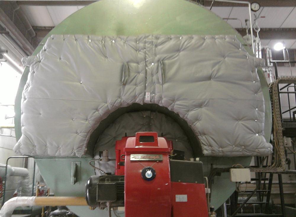 Klevostar Çözülebilir Yastık Sistemi - Kazan Ön ve Arka Kapak İzolasyonu