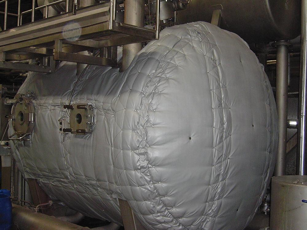 Klevostar Çözülebilir Yastık Sistemi - Tekstil Boya Makinesi İzolasyonu