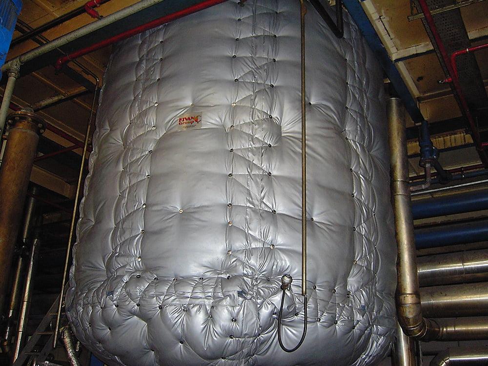 Klevostar Çözülebilir Yastık Sistemi ve Esanjör - Reaktör  İzolasyonu