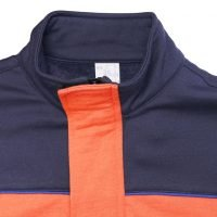 Straight collar for warm and comfortable use
