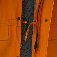 Drawcord on jacket hem